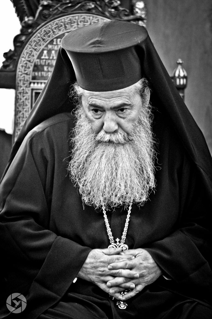theophilis III greek orthodox patriarchate photographed by Yonit Schiller © 2015 יונית שילר