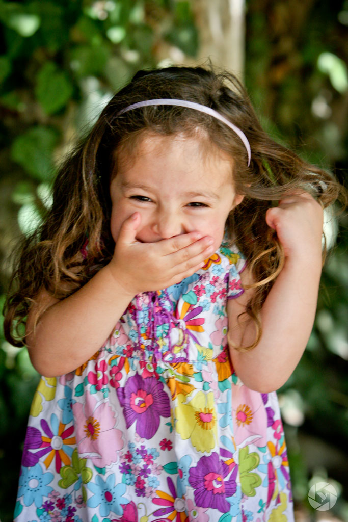 laughing girl happy photographed by Yonit Schiller © 2015  יונית שילר
